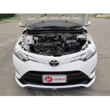 โตโยต้า Toyota Allnew Vios วีออส TRD Sportivo ปี2016 สีขาว เกียร์ออโต้