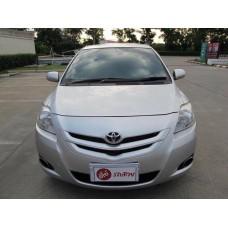 Toyota โตโยต้า วีออส Vios สีเทา ปี2009 เกียร์ออโต้ แถมฟรีประกันภัยและฟรีประกันอุบัติเหตุ