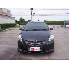 Toyota Vios โตโยต้า วีออส ปี2007 สีดำ เกียร์ออโต้ แถมฟรีประกันภัย